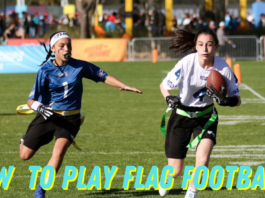 play flag football