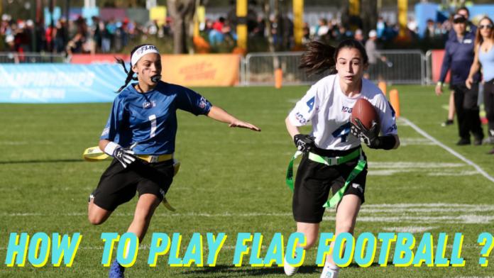 play flag football