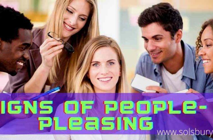 Signs of people pleasing